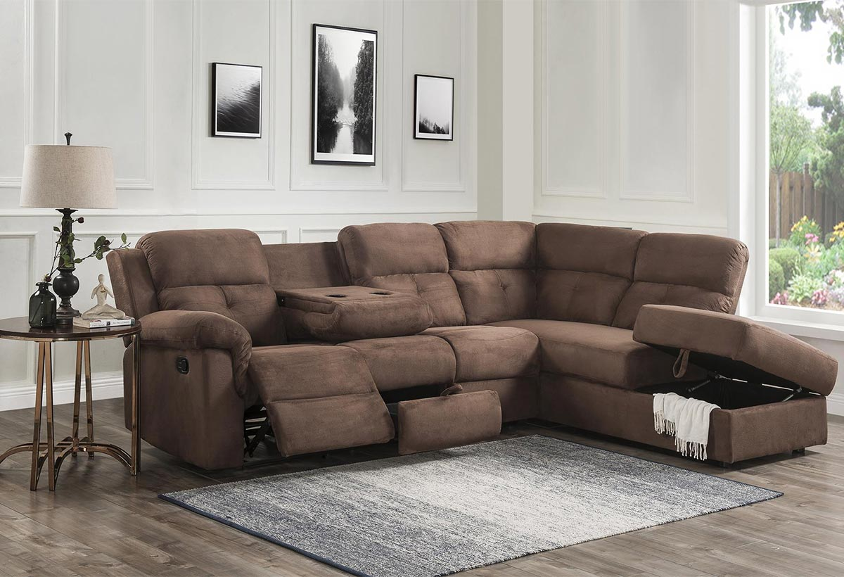 Gibson Reclining Sectional